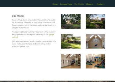 Centered Yoga Studio - The Studio